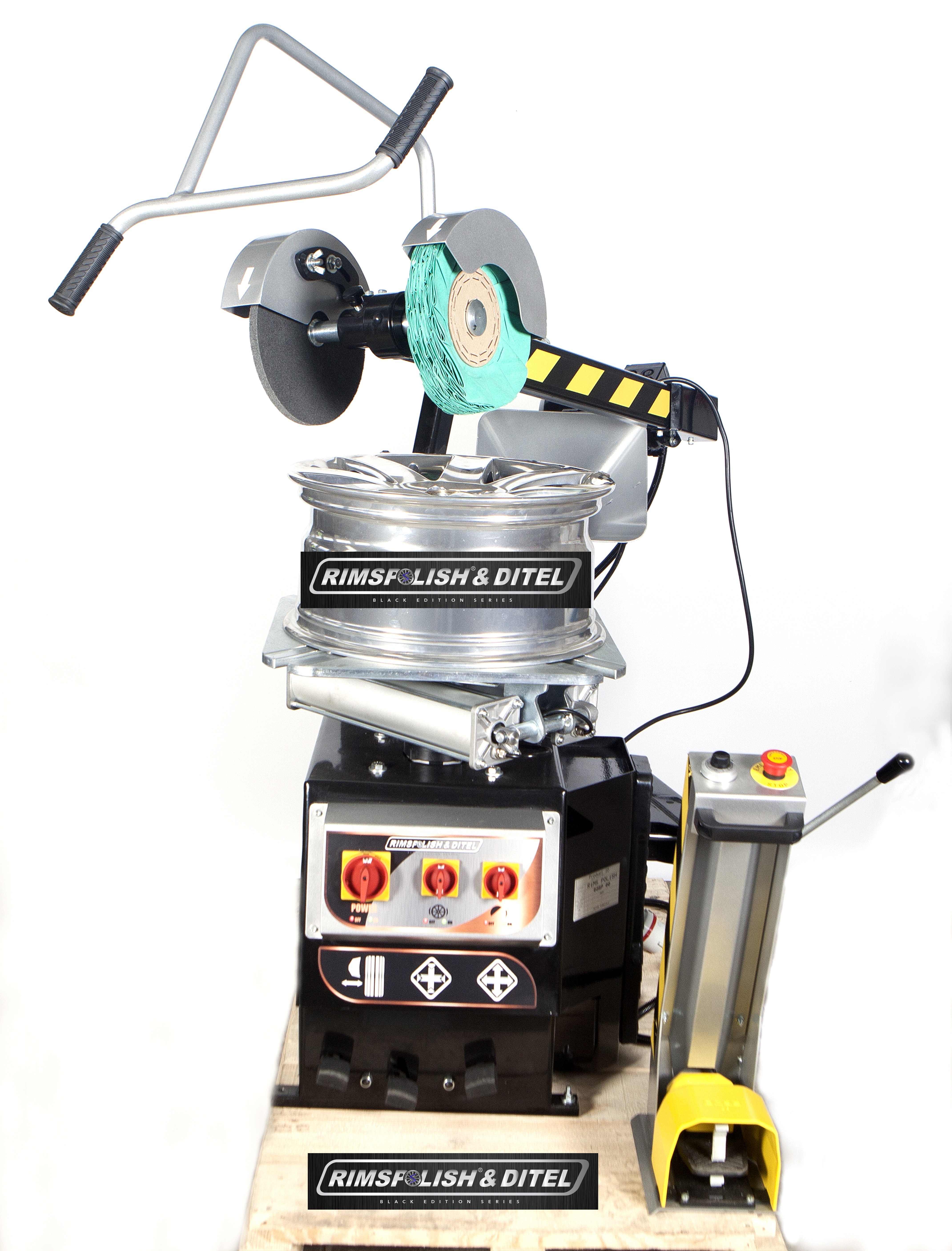 Felgenpoliermaschine RIMSPOLISH C32 BLACK-EDITION NEW 2019